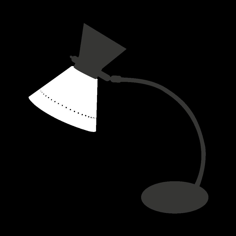 lampe diabolo vintage blanche